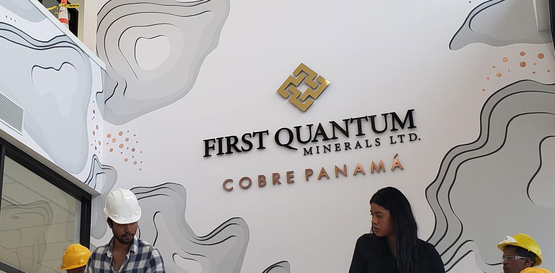 Dolphin Graphics Project - First Quantum Inc - Large Format