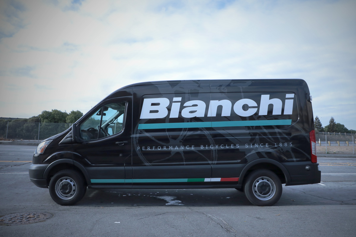 Bianchi Performance Bicycles Full Wrap