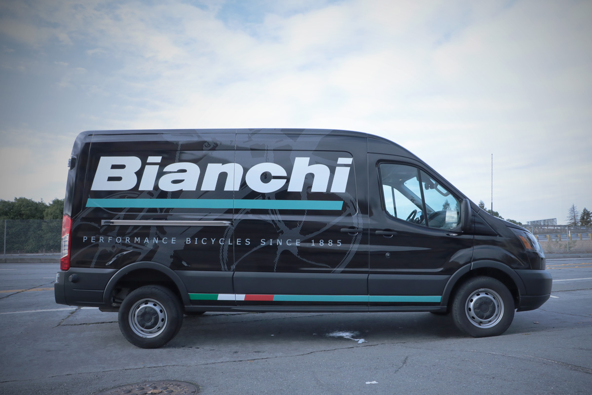 Bianchi Performance Bicycles Full Wrap